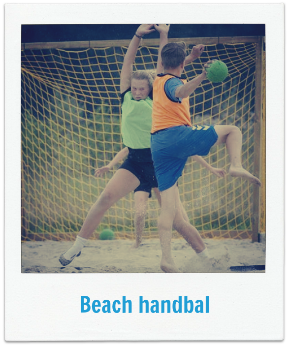 Beach handbal op Boerderij Dichtbij