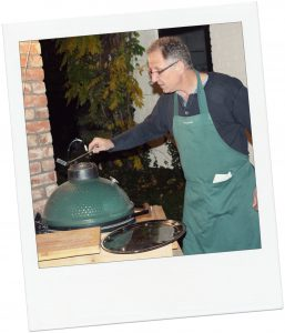 Tijdens de lunchworkshop leer je alles van de Big Green Egg