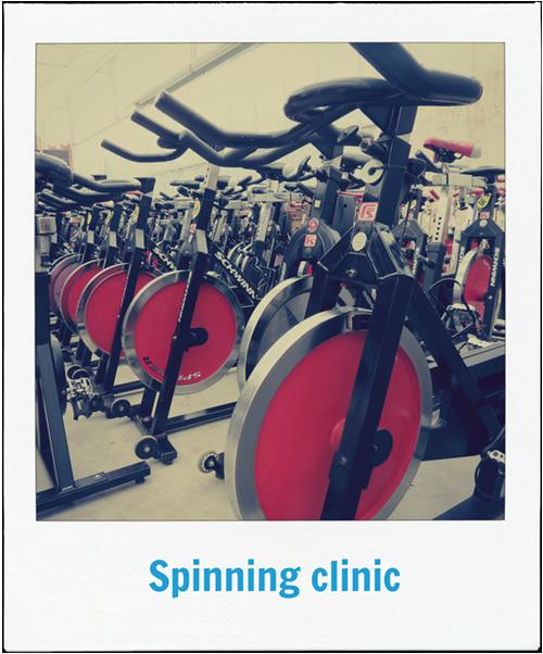 Spinning clinic is mogelijk bij Lokaal Westland