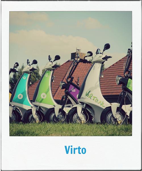Met de Virto vanaf Boerderij Dichtbij de polder in