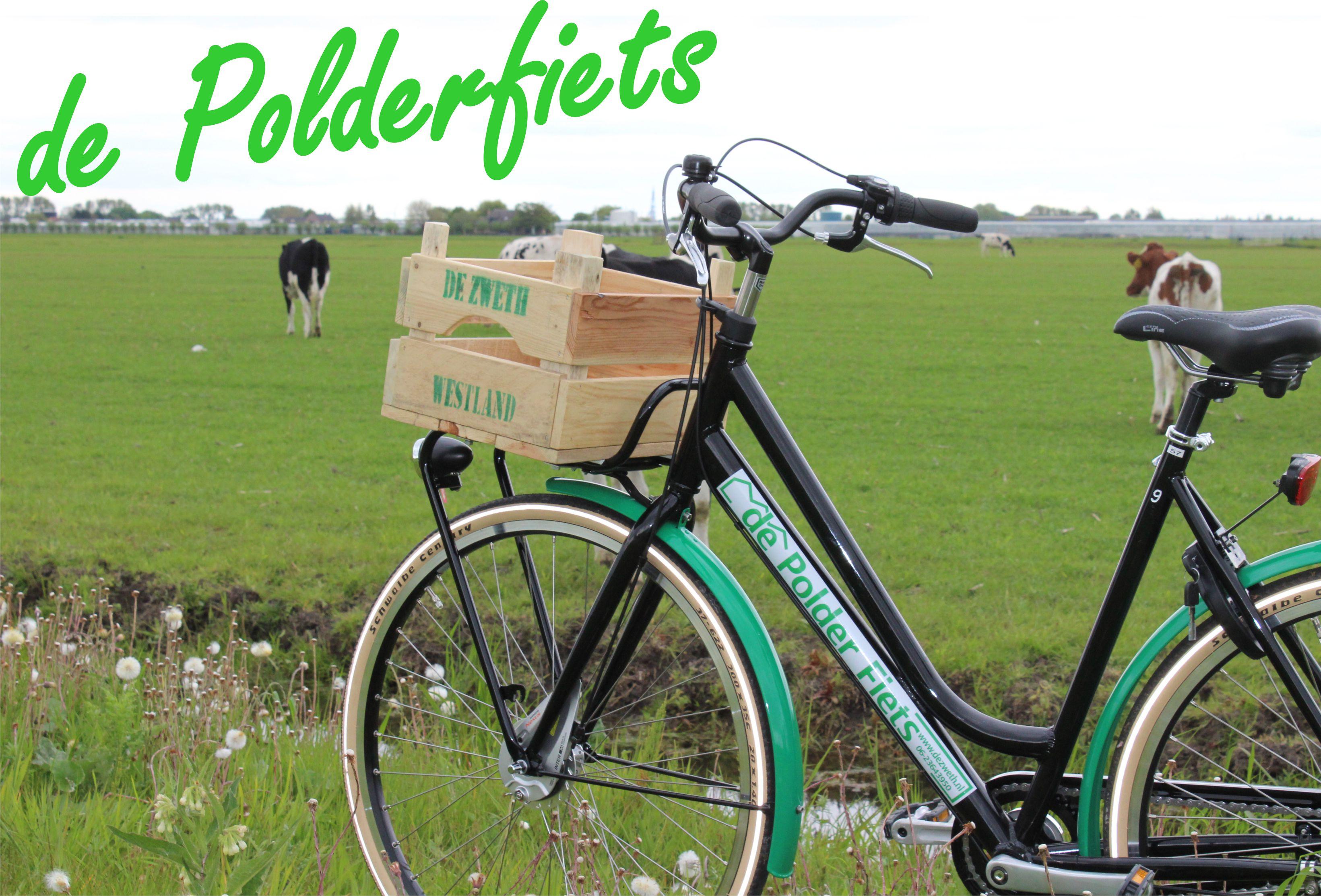 Coole fiets met bakkie